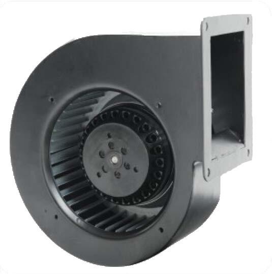 新风专用140低噪音3档调速风机